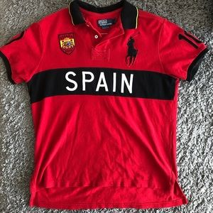 Men's Polo Ralph Lauren Spain Shirt